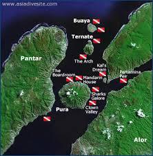 Il canale che divide le due isole offre i migliori fondali